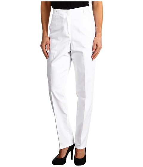Pendleton - Petite Everyday Chino (White Twill) Women's Casual Pants