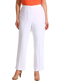 SALE! $34.99 - Save $103 on Pendleton Plus Size Travel Tricotine Destination Pant (White Travel Tricotine) Apparel - 74.64% OFF $138.00