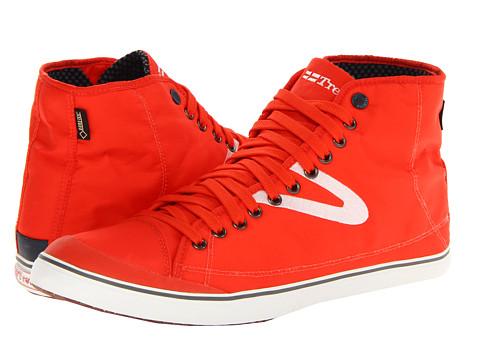 Tretorn - Skymra Mid SL Gore-tex (Orange.com) Lace up casual Shoes