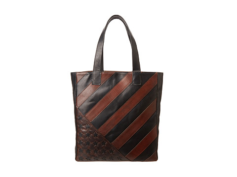 Frye Flag Tote (Black) Handbags