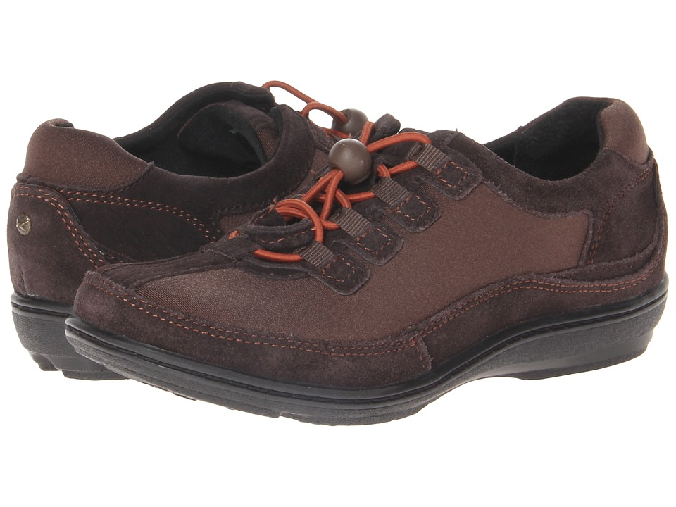 Image of Aetrex - Berries Bungee Oxford (Cocoberry) Women's Lace up casual Shoes