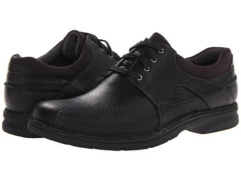 Clarks - Senner Blvd (Black Tumbled Leather) Men