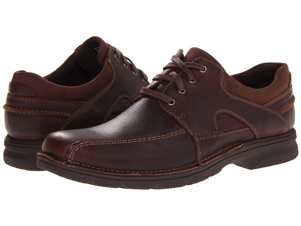 Clarks - Senner Blvd (Brown Tumbled Leather) Men