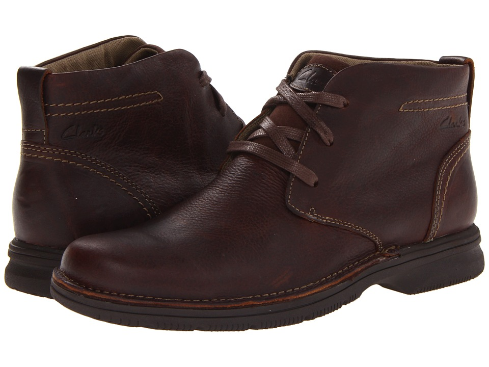 Clarks - Senner Ave (Brown Tumbled Leather) Men