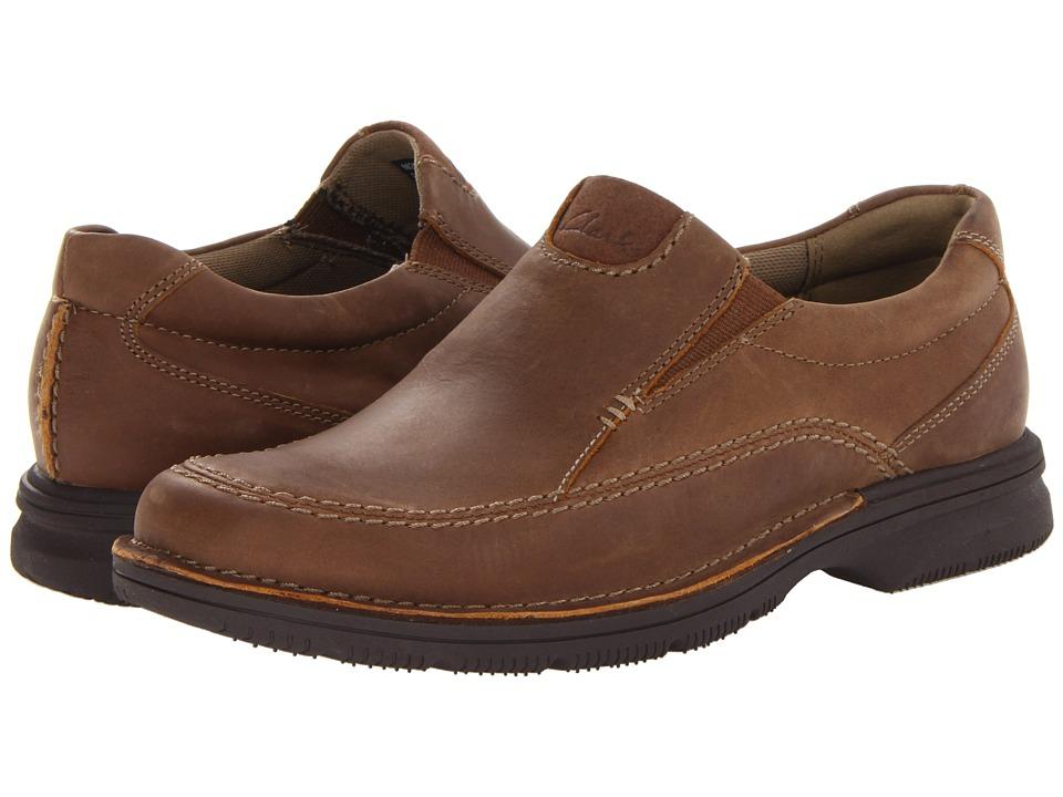 Clarks Senner Lane- Tan Nubuck loafers
