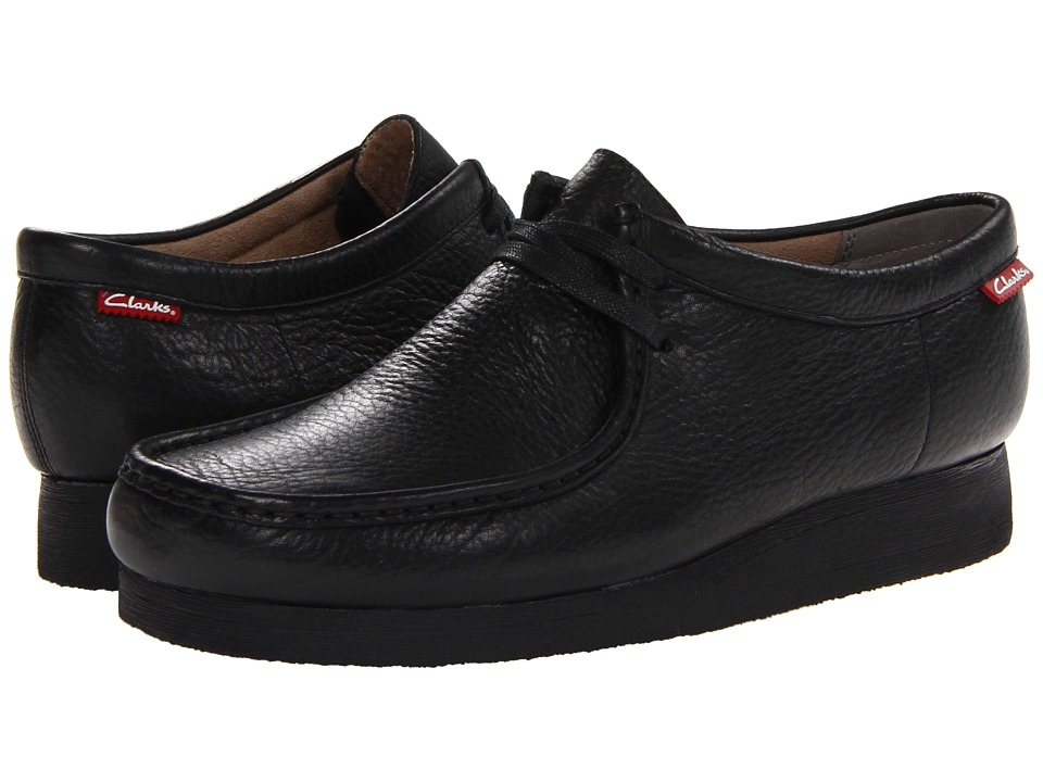 Clarks Stinson Lo (Black Leather) Men