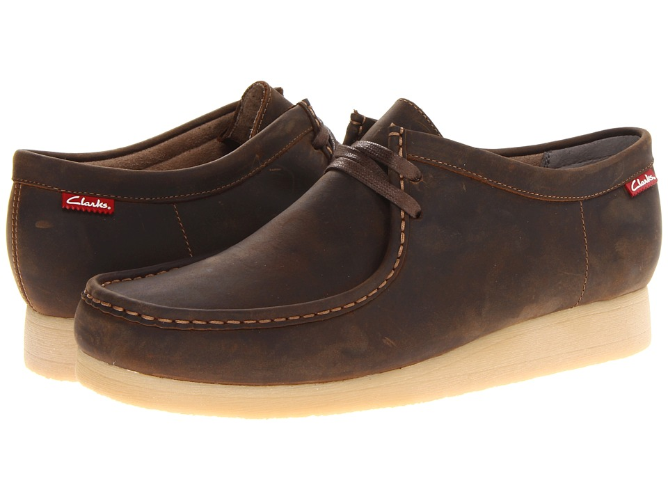 Clarks - Stinson Lo (Beeswax Leather) Men's Lace up casual Shoes