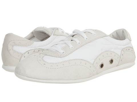 VOLATILE - Bangin (White) Women's Lace Up Wing Tip Shoes