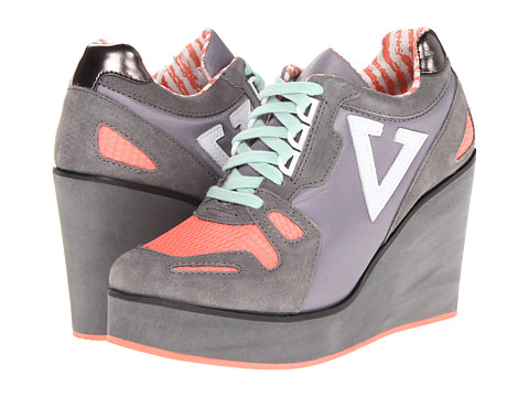 VOLATILE - Dip (Grey) Women's Lace up casual Shoes