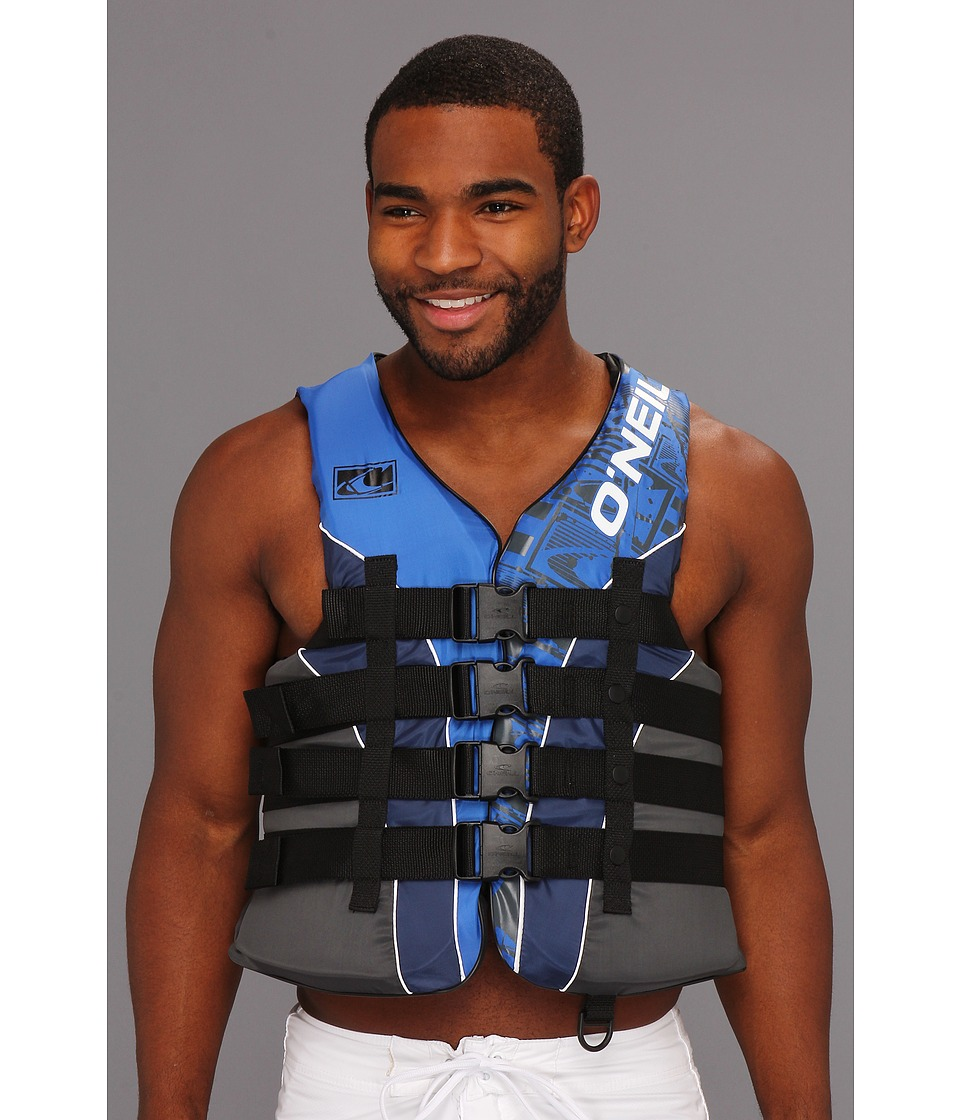 O'Neill - Superlite USCG Vest (Pacific/Navy/Coal/White) Men's Swimwear