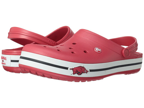 Crocs - Crocband Collegiate Clogs (University of Arkansas (Red)) Clog Shoes
