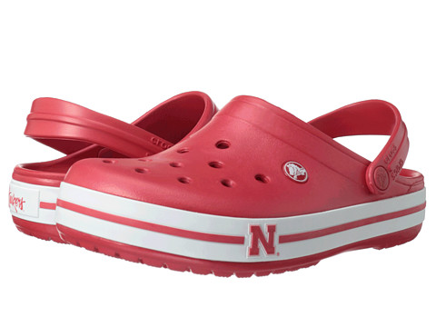 Crocs - Crocband Collegiate Clogs (University Of Nebraska (Red)) Clog Shoes