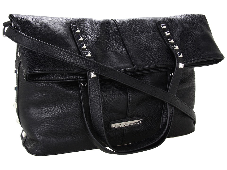 BCBGeneration - Quinn Weekender Bag (Black) Tote Handbags