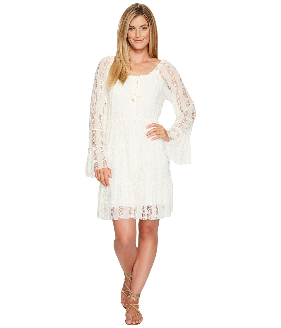 Scully - Honey Creek Flirtatious Lace Dress (Ivory) Women's Dress