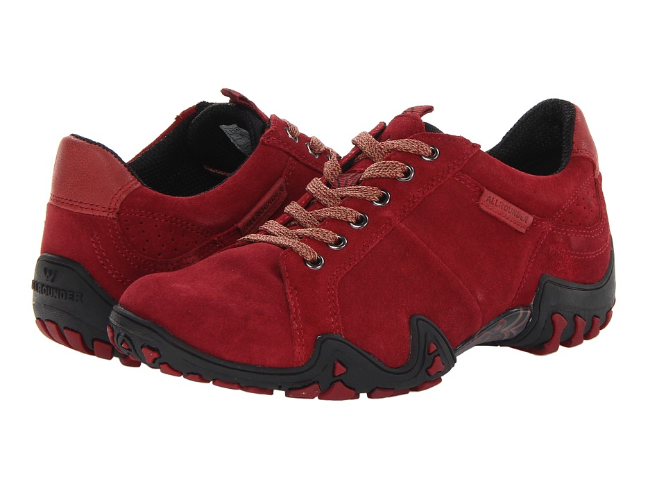 Allrounder by Mephisto Funny (Bordeaux Suede) Women