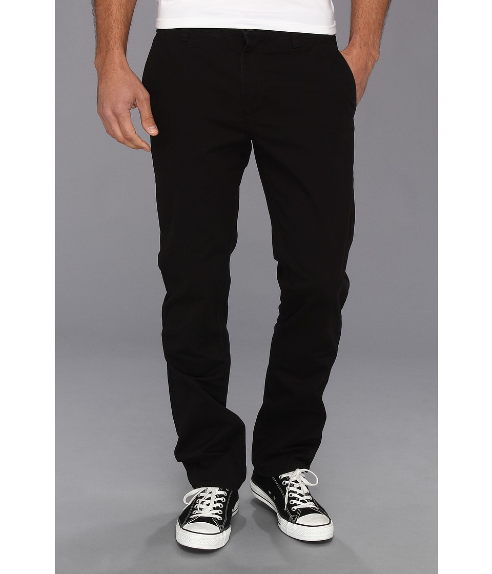 RVCA - All Time Chino Pant (Black) Men's Casual Pants