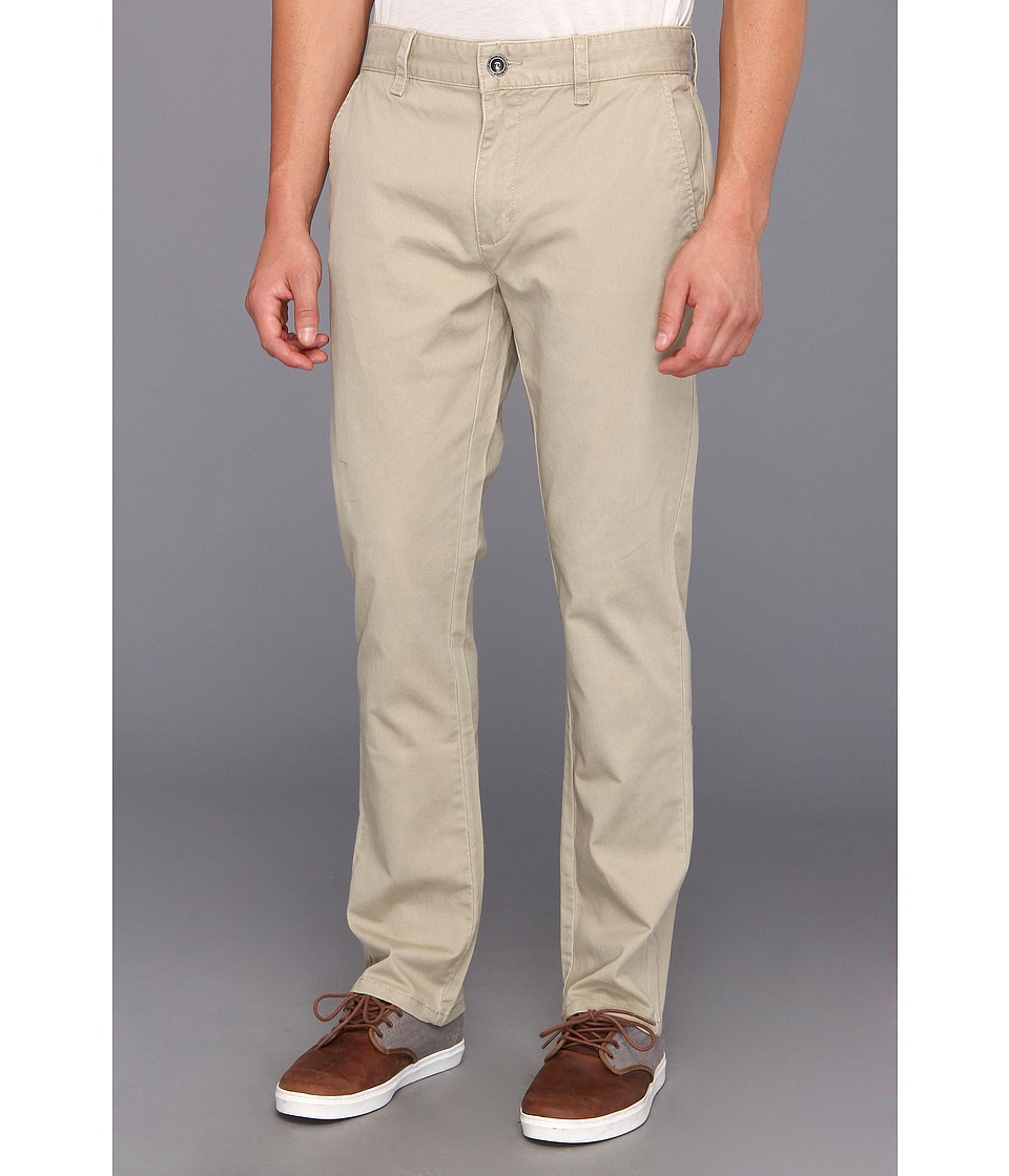 RVCA - All Time Chino Pant (Khaki) Men's Casual Pants