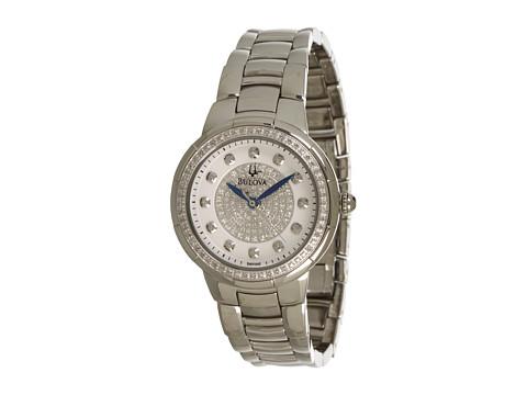 Bulova Ladies Diamonds - 96R168 (White) Watches