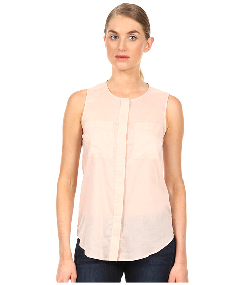 Theory - Eriel Top (Pink) Women's Blouse
