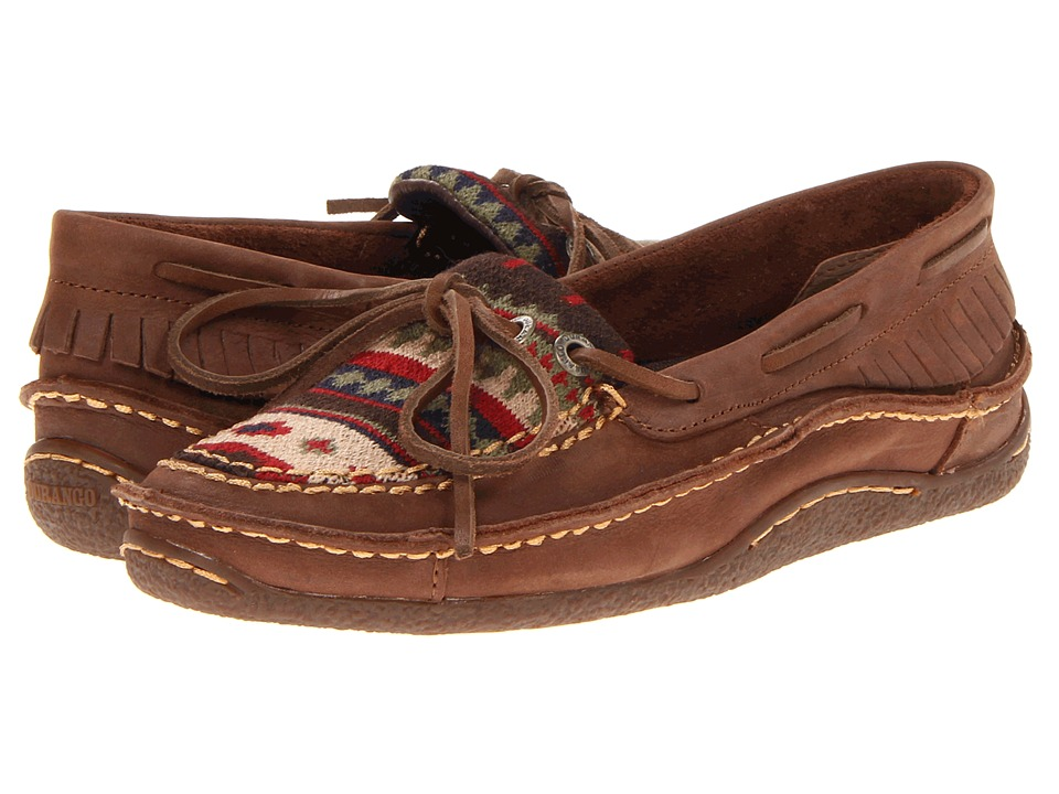 Durango - Santa Fe Low Moccasin (Auburn Sunset) Women's Shoes