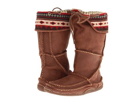 Durango - Santa Fe Tall Moccasin Cuff (Auburn Sunset) Cowboy Boots