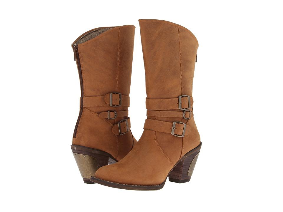 Durango Austin 11 Triple Buckle (Camel) Cowboy Boots