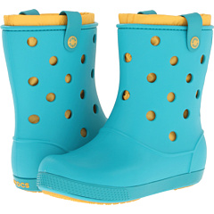 Crocs Crocband Airy Boot (Turquoise Canary) Footwear