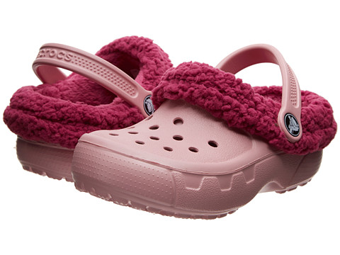 Crocs Kids - Mammoth EVO Clog (Toddler/Little Kid) (Petel Pink/Berry) Girls Shoes
