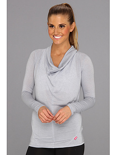 SALE! $16.99 - Save $41 on Ryka Draped Neck Top (Chrome Silver) Apparel - 70.71% OFF $58.00