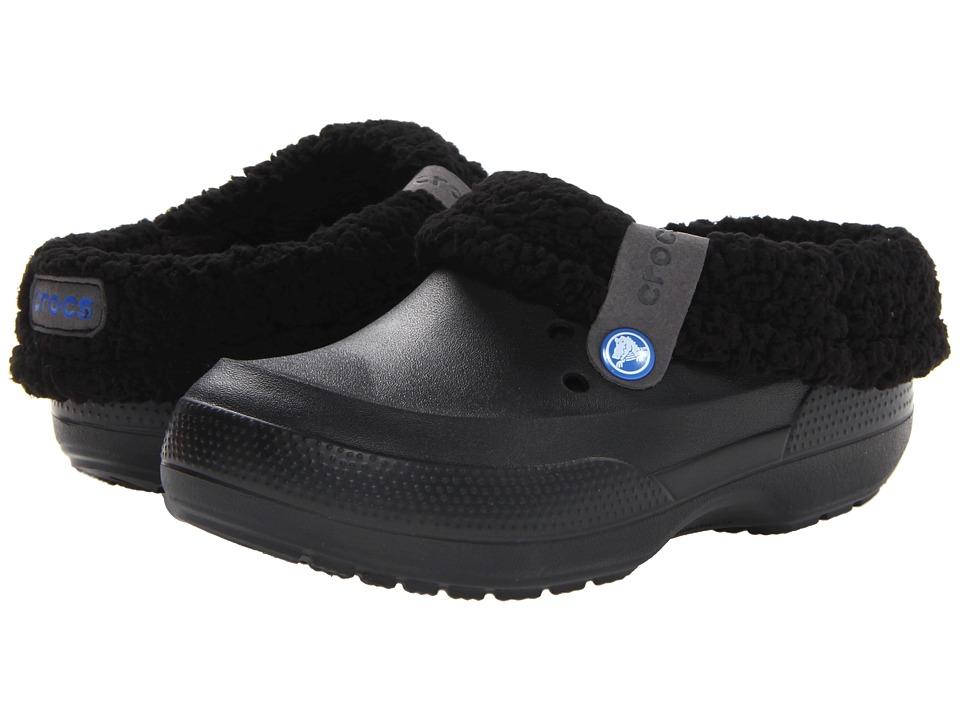 Crocs Kids - Blitzen II Clog (Toddler/Little Kid) (Black/Black) Kids Shoes