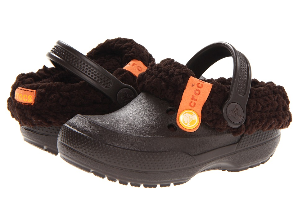 Crocs Kids - Blitzen II Clog (Toddler/Little Kid) (Espresso/Espresso) Kids Shoes