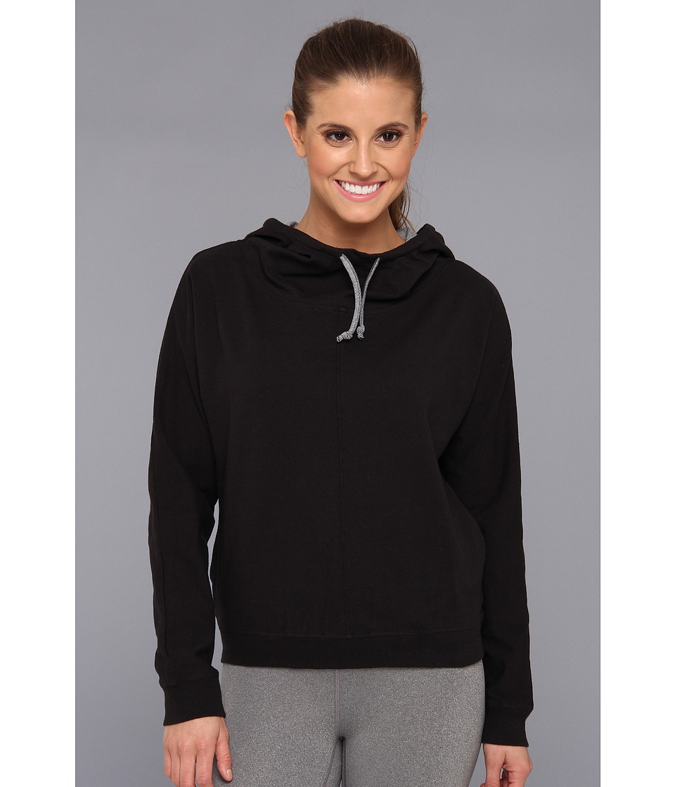 Ryka - Funnel Hoodie (Black) Women's Clothing