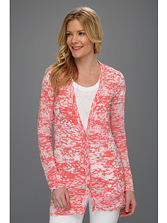 SALE! $16.99 - Save $51 on Allen Allen Burnout Cardigan (Begonia) Apparel - 75.01% OFF $68.00