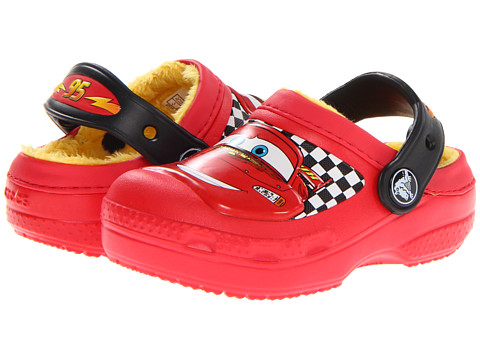 Crocs Kids - McQueen Lined Clog (Toddler/Little Kid) (Red) Kids Shoes