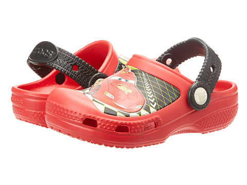 Crocs Kids - Lightning McQueen Clog (Toddler/Little Kid) (Red) Kids Shoes