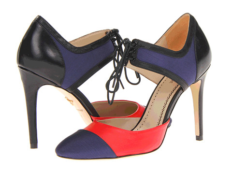 Pour La Victoire Darla (Navy/Red/Black) High Heels