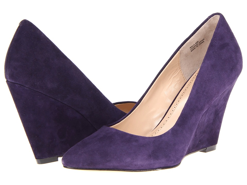 Pour La Victoire - Mai-A (Plum) Women's Wedge Shoes