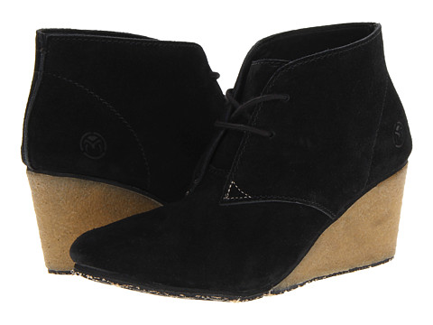 Ocean Minded - RuffOut Wedge Chukka Boot (Black/Khaki) Women