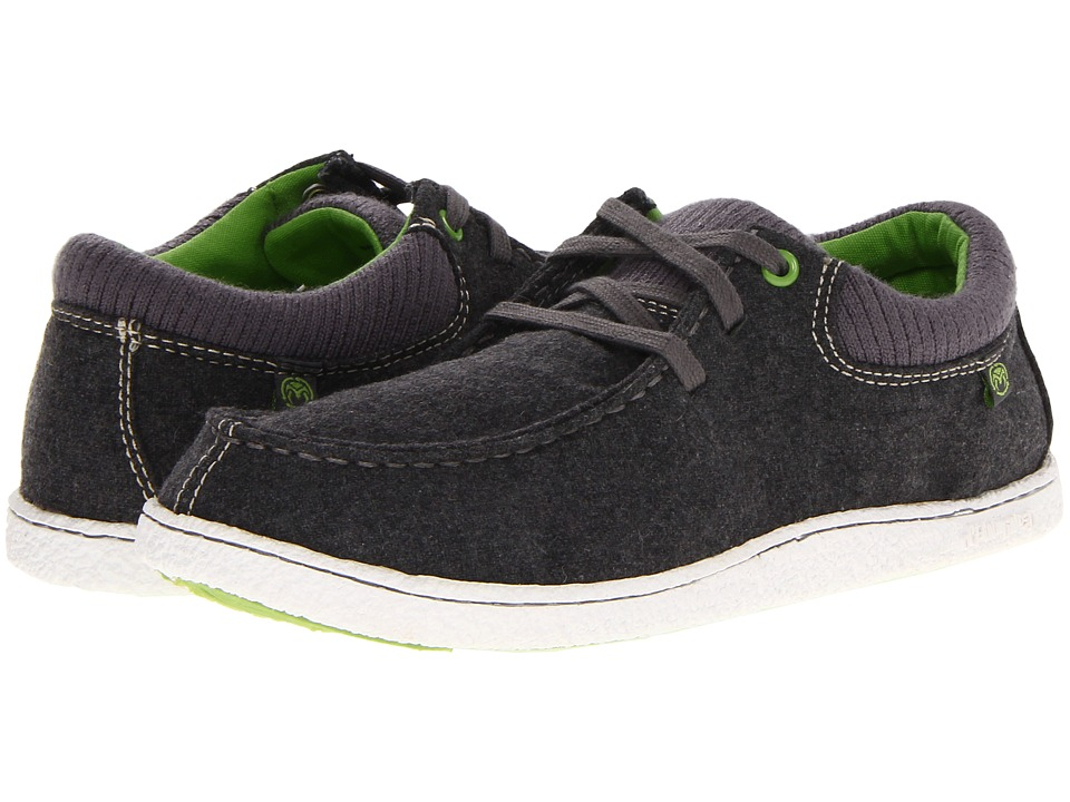 Ocean Minded - Minoa Felt Lace-Up (Charcoal/Parrot Green) Men's Lace up casual Shoes