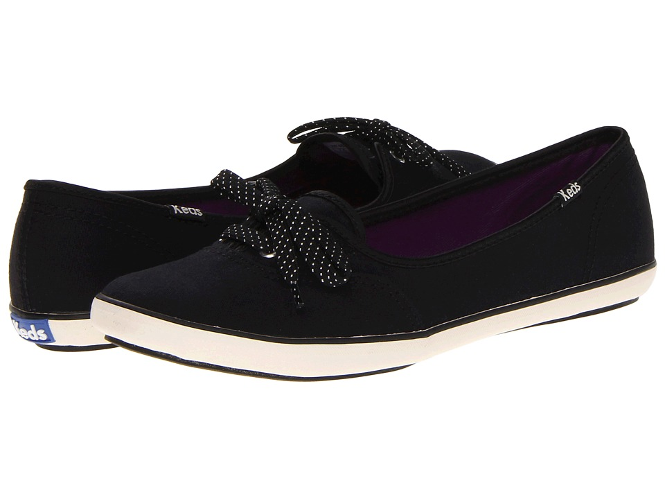 Keds - Teacup CVO Canvas (Black) Women's Lace up casual Shoes