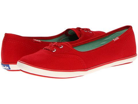 Keds - Teacup CVO Canvas (Red) Women's Lace up casual Shoes