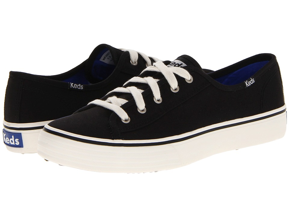 Keds - Double Up Core (Black) Women's Lace up casual Shoes