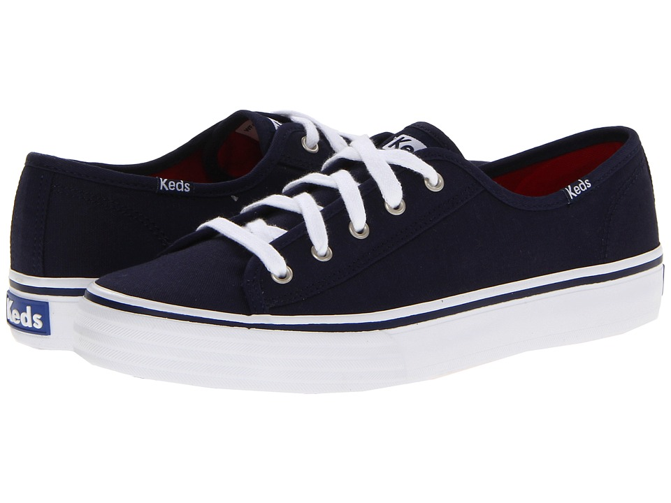 Keds - Double Up Core (Navy) Women's Lace up casual Shoes