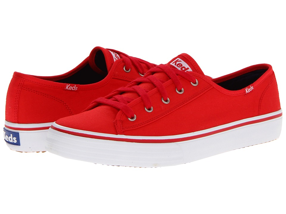 Keds - Double Up Core (Red) Women's Lace up casual Shoes