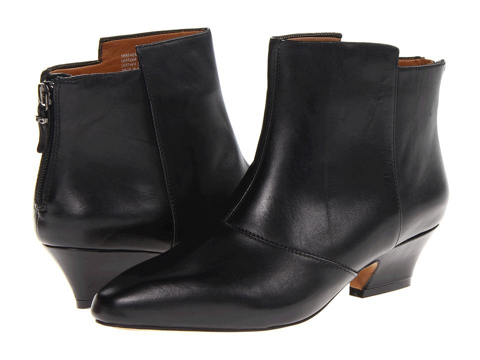 Earthies - Del Rey (Black Full-Grain Leather) Women's Dress Zip Boots