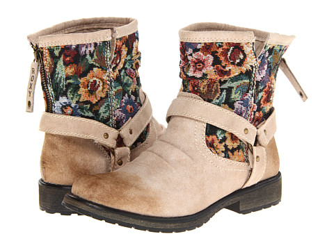 Roxy - Holliston (Cream) Women's Boots
