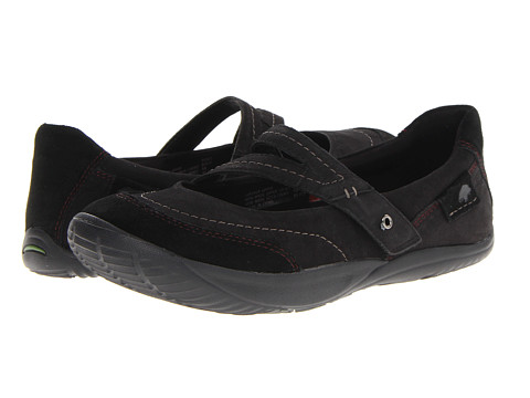 Earth - Peace (Black Wax Tumbled Nubuck) Women's Sandals