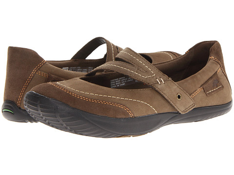 Earth - Peace (Olive Wax Tumbled Nubuck) Women's Sandals