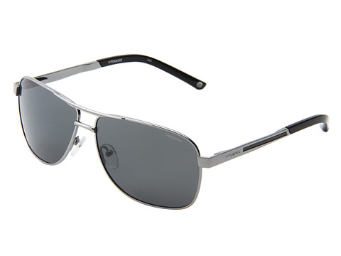 Polaroid Eyewear - X4307/S (B-Gunmetal/Gray Polarized) Metal Frame Fashion Sunglasses