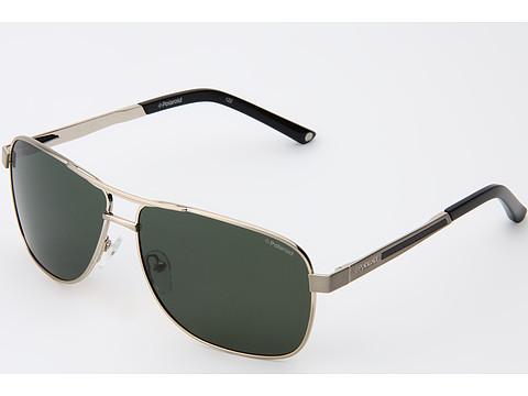 Polaroid Gold Frame Sunglasses : UPC 762753214867 - Polaroid Eyewear X4307/S (C-Gold/Green ...